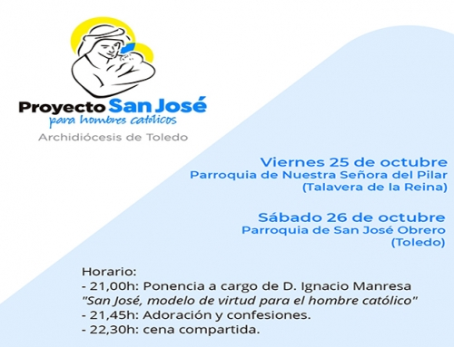 Encuentros: 25 octubre en Talavera y 26 octubre en Toledo