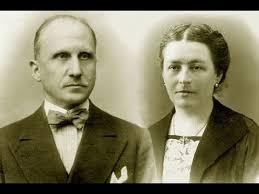 María Corsini y Luigi Beltrame