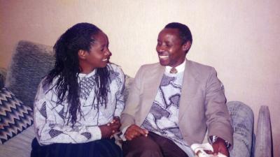Cyprien y Daphrose Rugamba