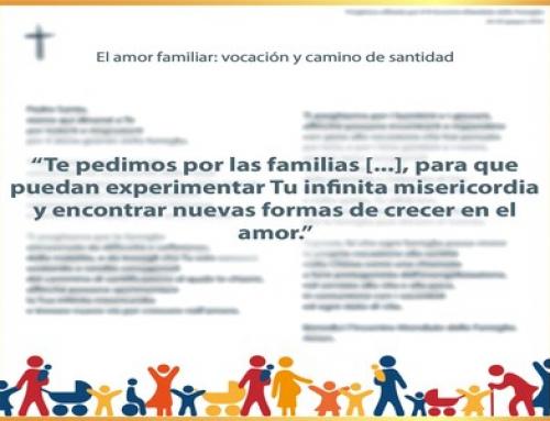 Oración para el X Encuentro Mundial de las Familias